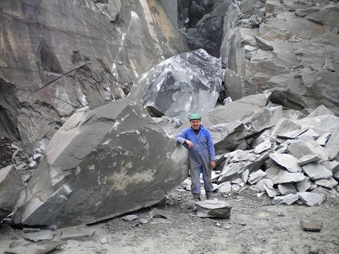 Slate Mine History