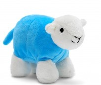 Baby Herdy Blue - {cf_product_letter_height}