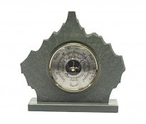 Slim Rustic Mantel Barometer - {cf_product_letter_height}