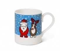 Herdy Christmas Mug - Herdy and Sheppy - {cf_product_letter_height}