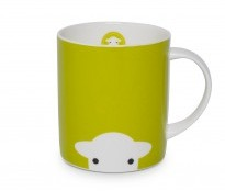 Herdy Peep Mug Green - {cf_product_letter_height}
