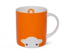 Herdy Peep Mug Orange - {cf_product_letter_height}