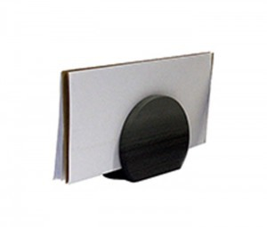 Round Polished Letter Rack - {cf_product_letter_height}
