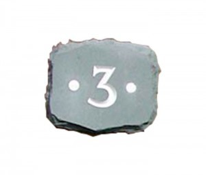 Rustic Edge Number Plate - {cf_numplate_letter_height}