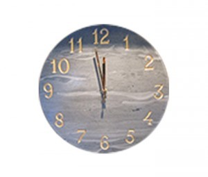 Coniston Green Slate Wall Clock - {cf_product_letter_height}