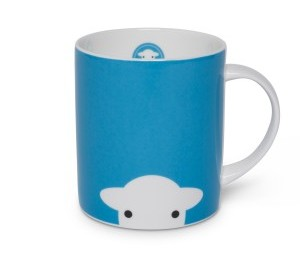 Herdy Peep Mug Blue - {cf_product_letter_height}