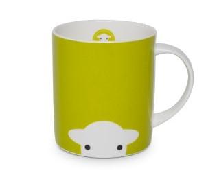 Herdy Peep Mug Green - {cf_product_letter_height}