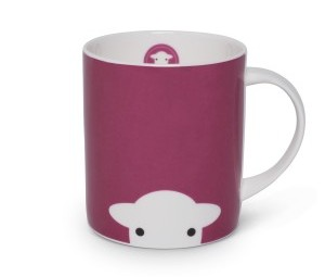 Herdy Peep Mug Pink - {cf_product_letter_height}