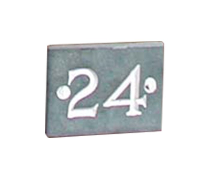 Straight Cut Number Plate - {cf_numplate_letter_height}
