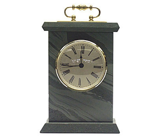 Carriage Clock Coniston Slate